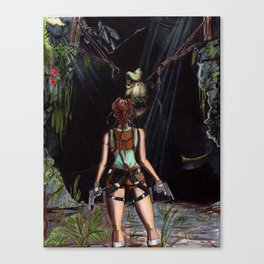 Tomb Raider - The Lost Valley Canvas Print