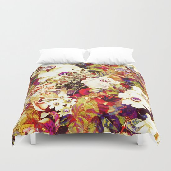 flowers profusion Duvet Cover