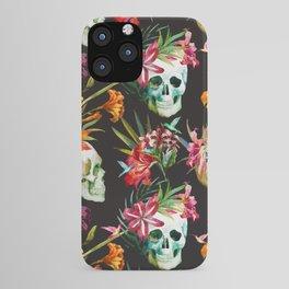 Hawaiian Skull iPhone Case