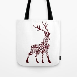 ornamental stag Tote Bag