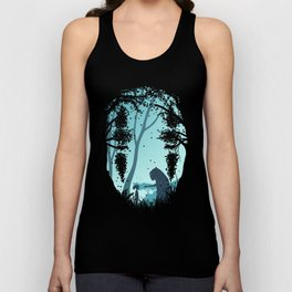 Lonely Spirit Spirited Away Unisex Tank Top