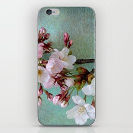 "Cherry blossoms on ""Wa-shi""  -桜に和紙 iPhone Skin"