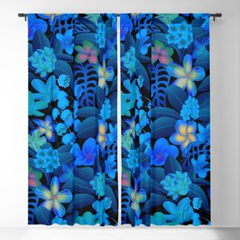 Evening Tropical Paradise Blackout Curtain