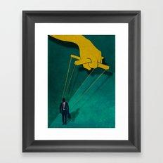Fight Club Framed Art Print