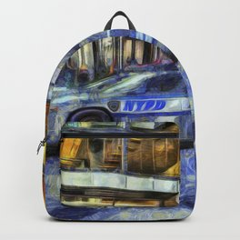 New York police Department Van Gogh Backpack