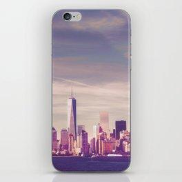 New York City Skyline Waterfront iPhone Skin