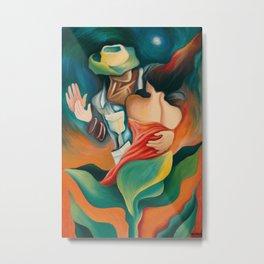 First Dance - Miguez Cuban Art Painting Metal Print