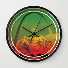 Simpple Brewery Rasta Wall Clock