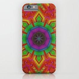 Dynamic Mandala    #society6 #buy #psychedelic iPhone Case