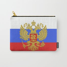 russian flag Carry-All Pouch