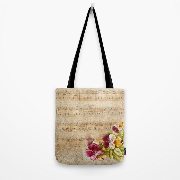 Vintage music #7 Tote Bag