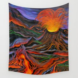 Madame Pele Wall Tapestry