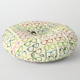 Choices -- Which Eyeglasses to Choose Floor Pillow
