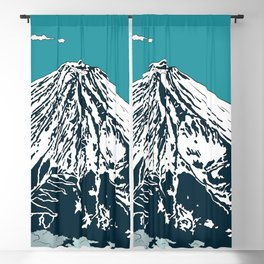 Mount Fuji from the Sky Blackout Curtain