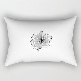 Jellyfish B&W Rectangular Pillow