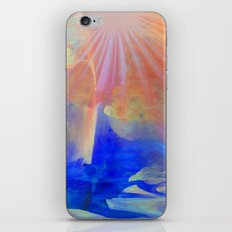 Living Under The Umbrella Of Light... abstract  iPhone & iPod Skin