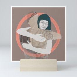Cosmic Hug Mini Art Print
