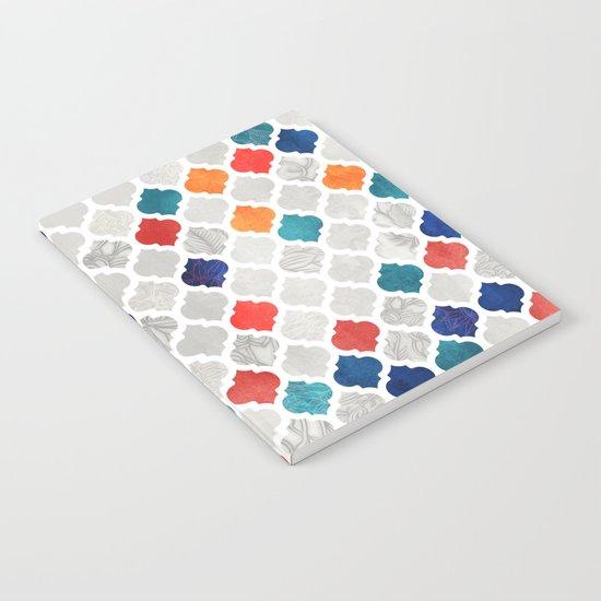 Sea & Spice Moroccan Pattern Notebook