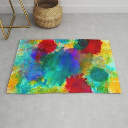 SPACE EXPLOSION Rug