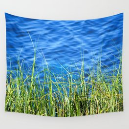 Blue and Green Wall Tapestry