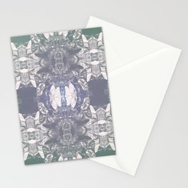 Feminine Mystique of Land and Sea Stationery Cards
