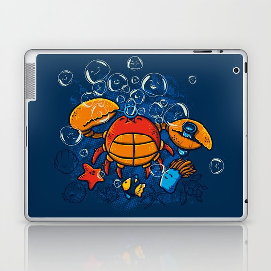 Jellyfishes Birth Laptop & iPad Skin