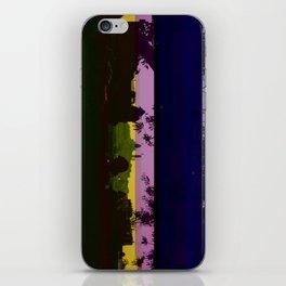 Paris and glitch iPhone Skin