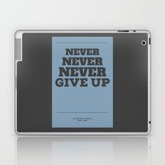Never Laptop & iPad Skin