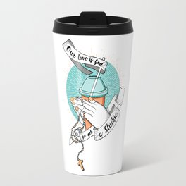 Our love is God Travel Mug