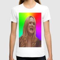 jennifer lawrence T-shirts featuring Jennifer Lawrence Rainbow Derp by dashingfoxx