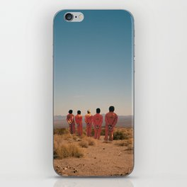 We Wont Let Them Jump Again iPhone Skin