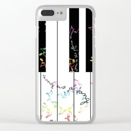 sing us a song tonight Clear iPhone Case