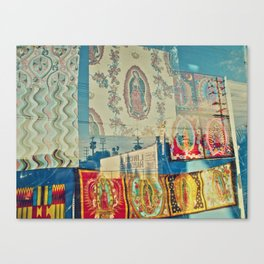 LA Window - Our Lady of Guadalupe Canvas Print
