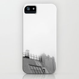 Chicago black&white 2 iPhone Case