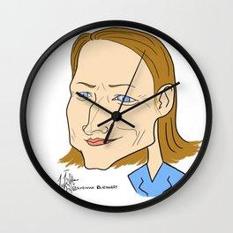 Jodie Foster Wall Clock