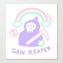 Grin Reaper Canvas Print