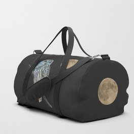Owl, See the Moon Duffle Bag