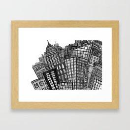 BIG CITY Framed Art Print