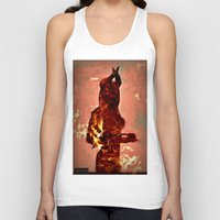 devil Tank Tops featuring Devil by Eve Divyn