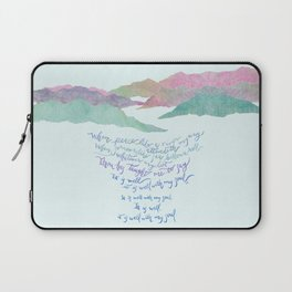 It Is Well With My Soul-Hymn Laptop Sleeve