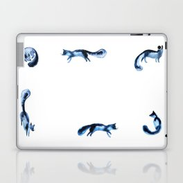 Running silver foxes Laptop & iPad Skin