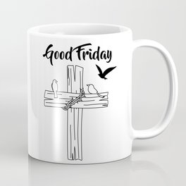 Cross With Bird Coffee Mug
