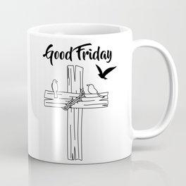 Cross With Bird Coffee Mug