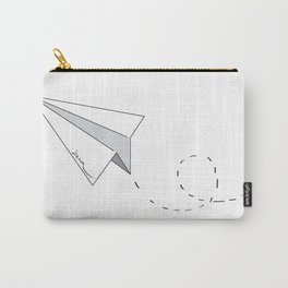 Dream Paper Airplane Carry-All Pouch