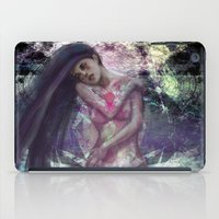 the cure iPad Cases featuring Hard to Cure by Tanzer Dragon
