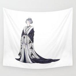 Yuki Onna Wall Tapestry