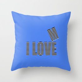 i love me III Throw Pillow