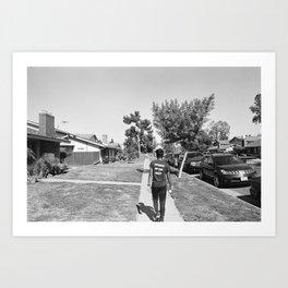 Runner of the Meet Art Print