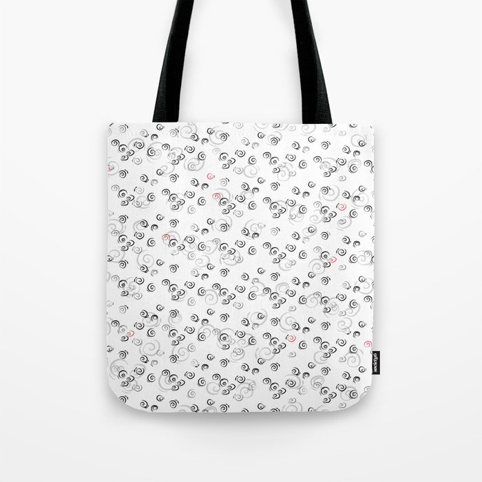 White Night Tote Bag