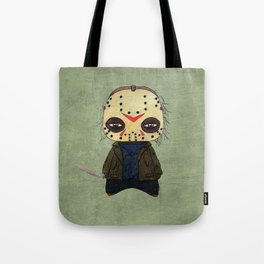 A Boy - Jason ( Friday the 13th) Tote Bag